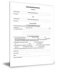 Darlehensvertrag Privatperson