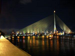 Bildmotiv Bangkok bei Nacht