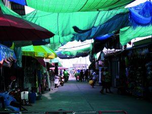 Bildmotiv Bangkok Markt