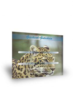 Geschenkgutschein Leopard