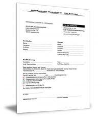 Mitteilung an die KFZ-Versicherung (Abmeldung)