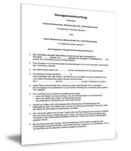 Gratis Mietvertragsmuster Vorlagen Kostenlos Herunterladen