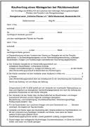 Kaufvertrag Kleingarten (Pächterwechsel)