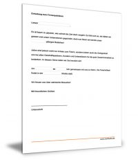 Einladung Firmenjubiläum