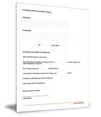 Kündigung Immobilienmakler-Vertrag