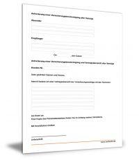 Anforderung Versicherungsbescheinigung aller Verträge