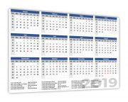 Jahreskalender 2019 alle Bundeslaender
