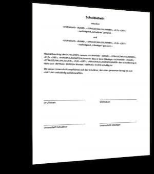 Darlehensvertrag Zwischen Privatpersonen