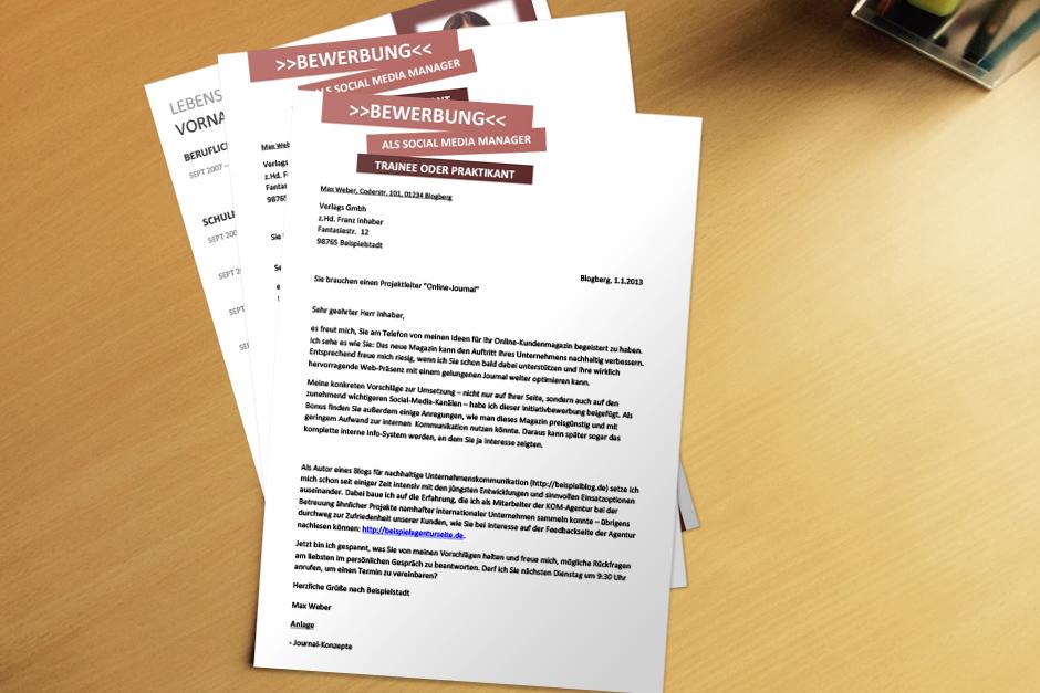Geschäftsbrief persönlich kennenlernen