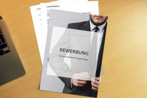 Bewerbungsvorlage Grey Suit