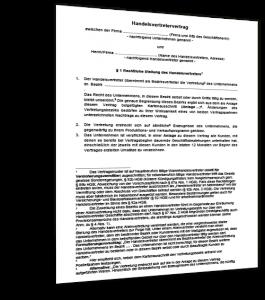Muster Handelsvertretervertrag
