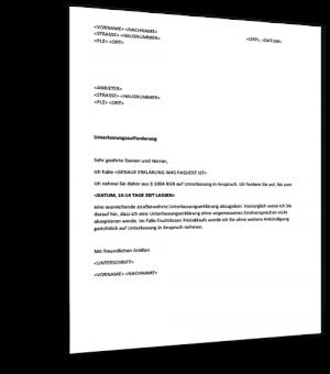 musterbrief-unterlassungserklaerung