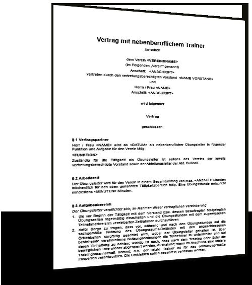 Schriftliche Vereinbarung Muster Kostenlose 4