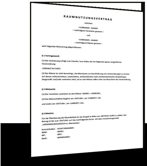 Nutzungsvereinbarung Privat Pkw Vorlage Zum Download 5