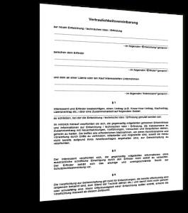 vertraulichkeitsvereinbarung-muster