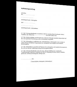 Arbeitsvertrag Leitender Angestellter Zum Download