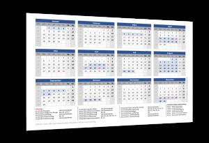 Schulferienkalender Baden-Württemberg 2019
