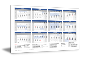 Schulferienkalender Hamburg 2019