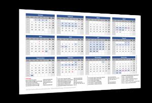 Schulferienkalender Mecklenburg-Vorpommern 2019