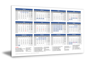 Schulferienkalender Rheinland-Pfalz 2019