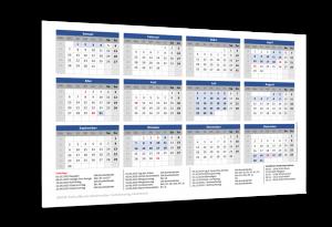 Schulferienkalender Schleswig-Holstein 2019