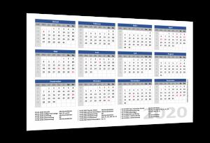 Jahreskalender 2020